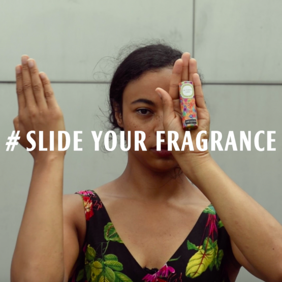 # SLIDE YOUR FRAGRANCE
